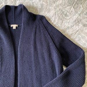 GAP Cardigan Sweater Navy Large